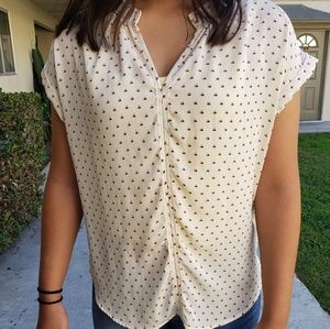 4/$25 Papermoon Cream Blouse